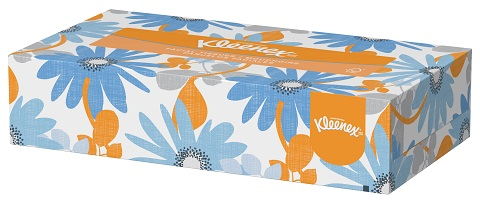 Flat Box Facial Tissues