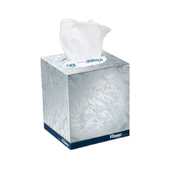 Upright Box Facial Tissues