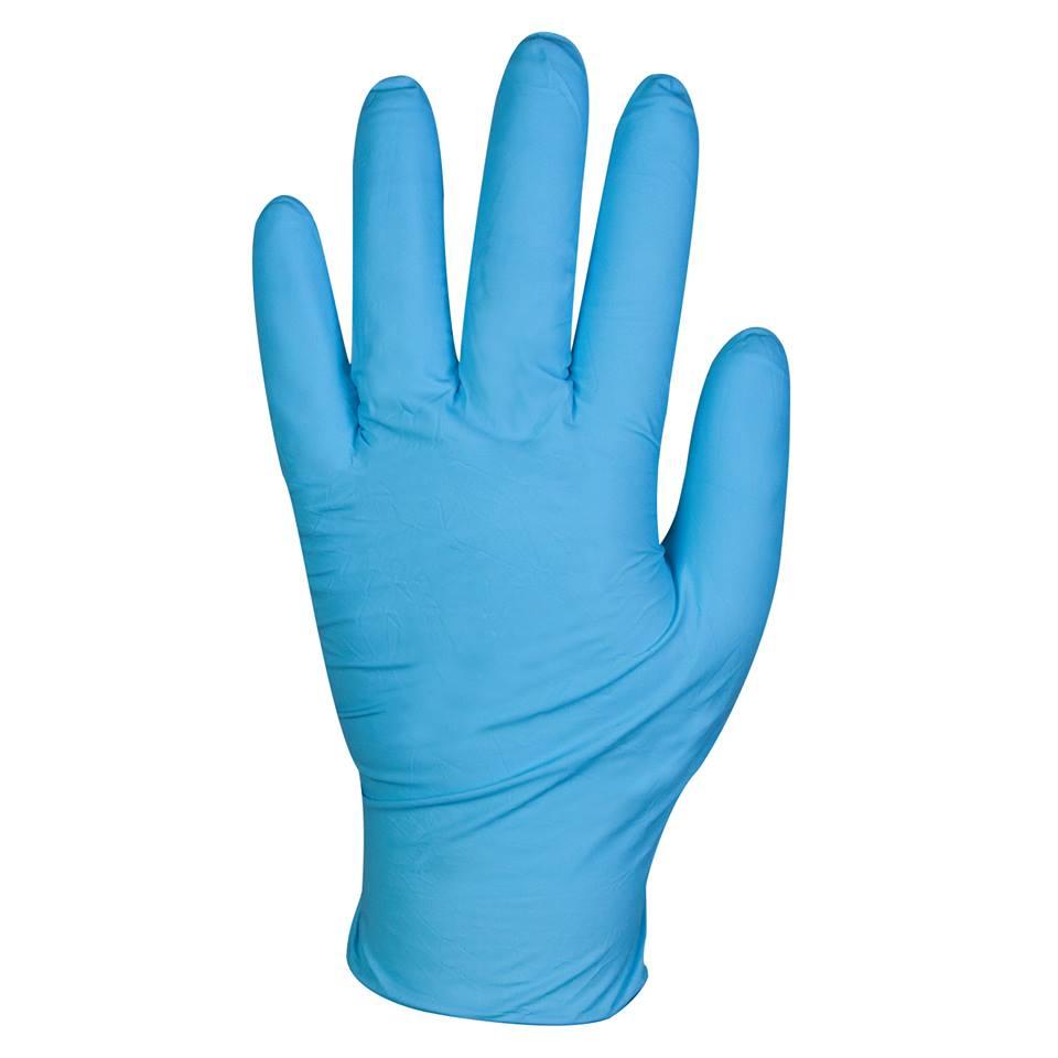 Kleenguard G10 Flex Blue Nitrile Gloves